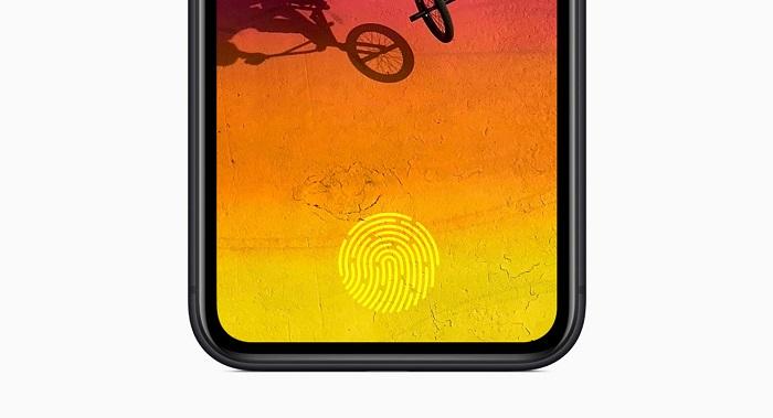 苹果新专利:为iPhone引入配备屏下Face ID和指纹传感器
