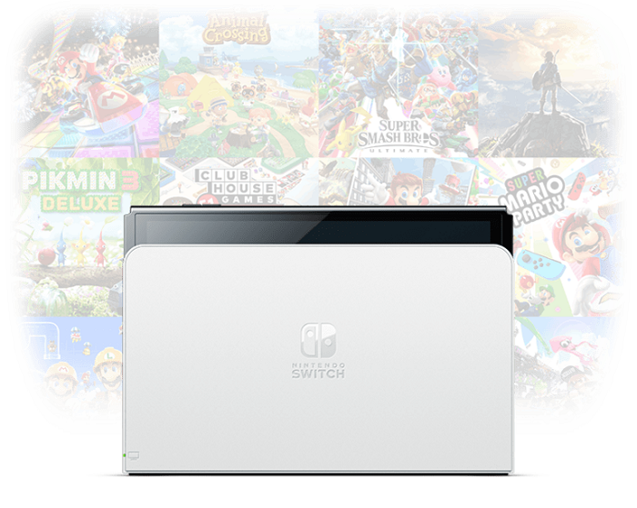 任天堂推出新款Switch主机:升级OLED屏幕 但它并不是Switch Pro