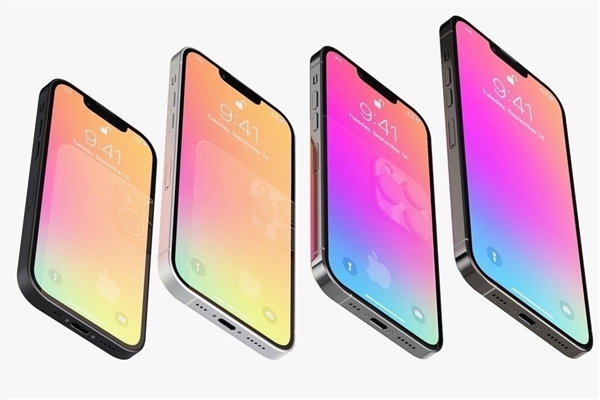 曝iPhone 13命名已被确定:共4款机型、全系小刘海