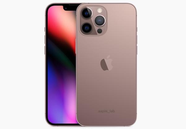 iPhone 13 Pro系列超清渲染图曝光:玫瑰金配色太亮眼
