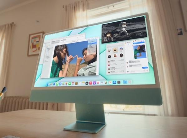 苹果官网开卖官翻M1 iMac:标配4.5K原色屏,立省2000元
