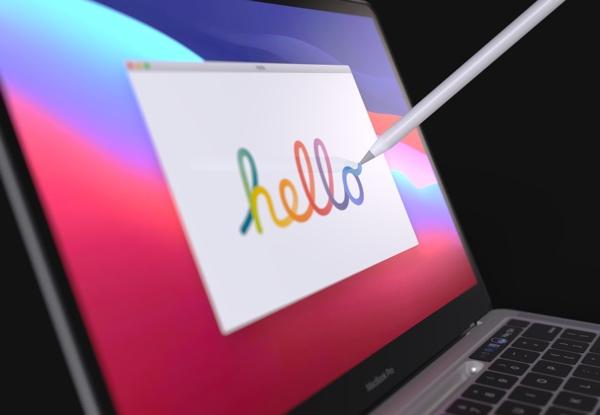 苹果新专利显示,MacBook Pro 有望支持手写笔并取消 Touch Bar