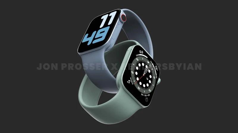传闻Apple Watch 7系列将迎来更大的41毫米和45毫米型号