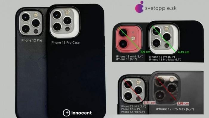 泄露的手机壳设计暗示iPhone 13相机位置和尺寸发生变化