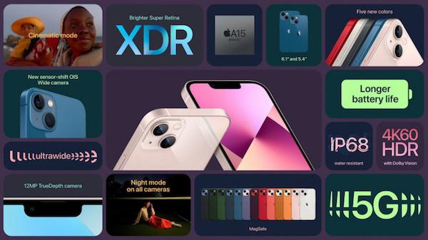 Xcode 13 代码显示:苹果 iPhone 13 全系内存与 iPhone 12 系列相同