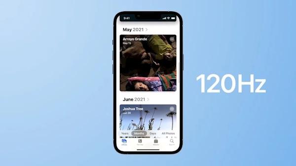 曝iPhone 14系列将有三款配备120Hz面板:LG首次参与供屏