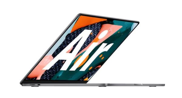 苹果MacBook Air最新爆料:M2芯片、非锥形设计,多彩颜色等