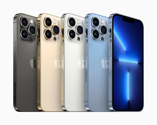 遭遇芯片短缺,曝iPhone13/Pro系列生产目标下调1000万台