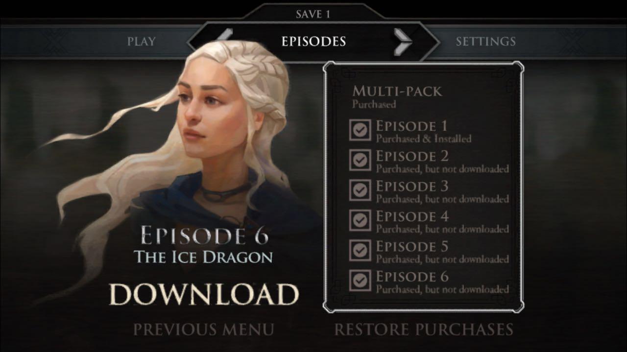 Game Of Thrones Telltale All Episodes Unlocked Ios | Amtcartoon co