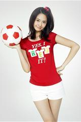 ,韩国美少女,青春,可爱,足球,