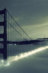 ,城市,桥,灯光,