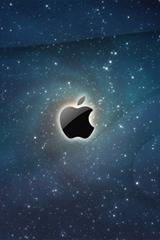 ,星空,苹果,logo,