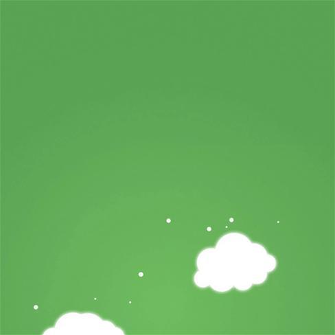 绿色,云朵,小清新