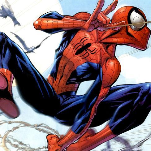 蜘蛛侠,卡通,彩色