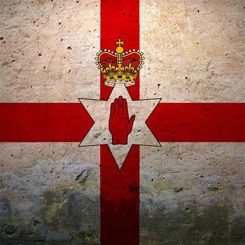 国旗, 北爱尔兰 ,静物