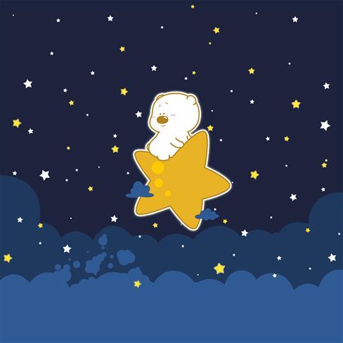 可爱萌熊卡通图片