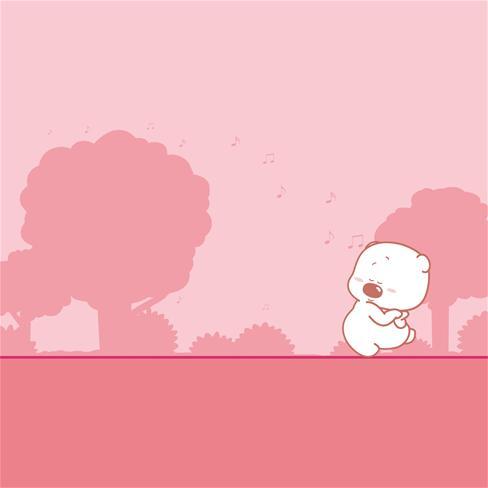 小囧熊,可爱,萌,卡通,动漫,粉色,漫画图片
