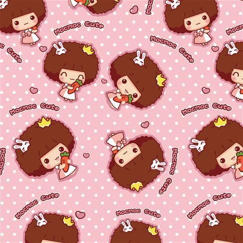 粉色可爱动漫背景