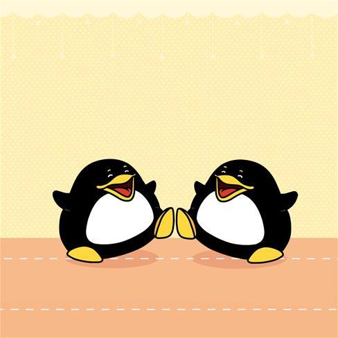企鹅,有爱,可爱,萌,卡通