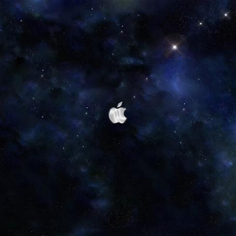 苹果6黑色星空壁纸