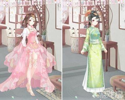 奇迹暖暖中式古典服饰搭配风格