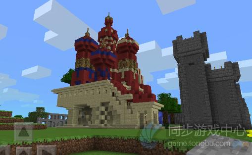 我的世界ios存档-城堡