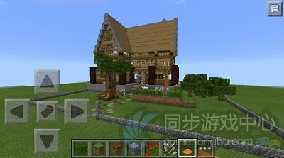 我的世界手机版欧式木制别墅