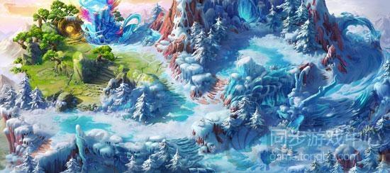 梦幻西游手游版浩瀚如烟的世界地图大全