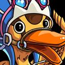 我是海贼王B级卡牌卡鲁鸭