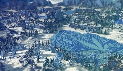 冰雪花之湖