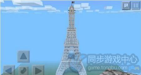 我的世界手机版埃菲尔铁塔