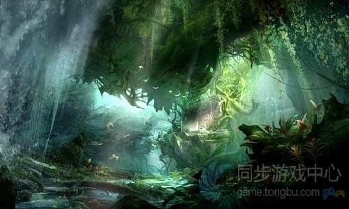 天龙八部3D游戏原画2