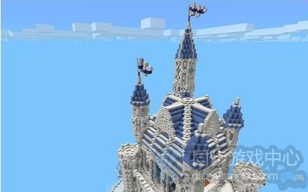 我的世界手机版冰雪城堡