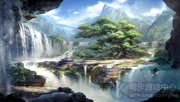 天龙八部3D游戏原画3