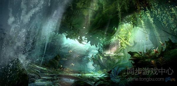天龙八部3D游戏原画4