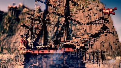 高岛的雄伟城堡