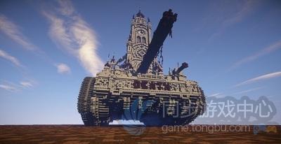 坦克与教堂