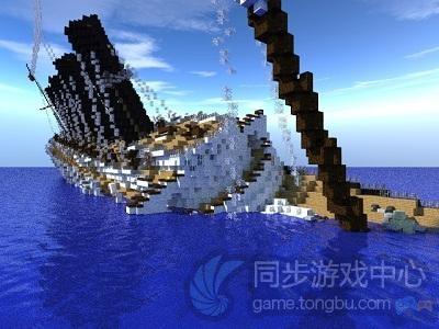 沉没的泰坦尼克号