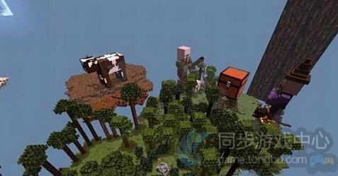 我的世界手机版动物空岛