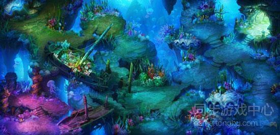 海底迷宫 神秘的水族世界,海底迷宫位于龙宫深处,四处布满暗礁珊瑚