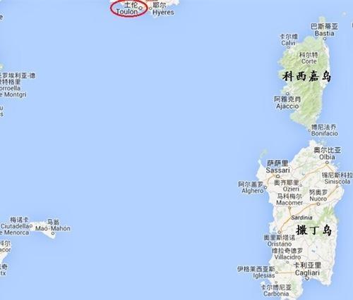 巴里阿里群岛地图