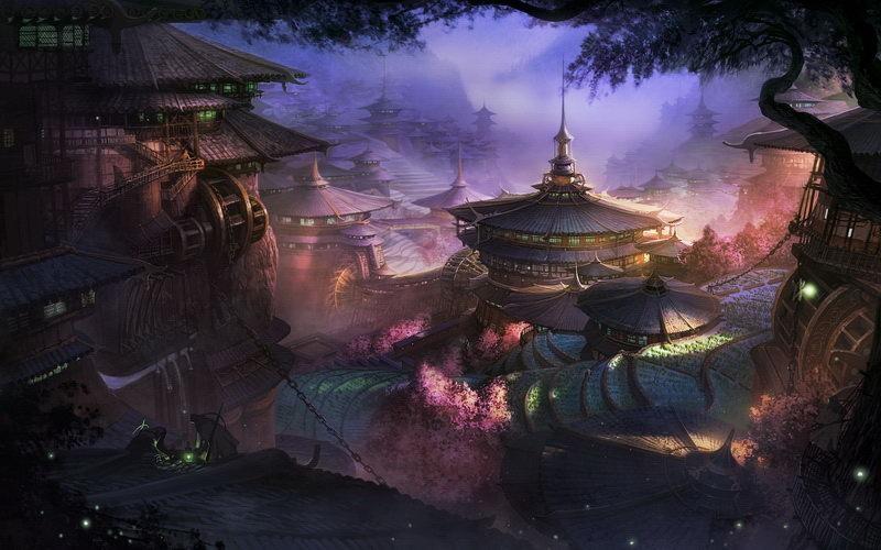 天龙八部3d游戏原画