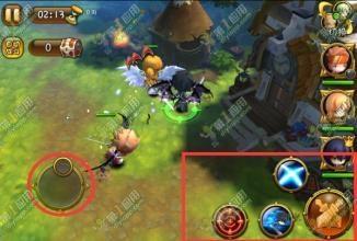 梦幻神域讲解游戏的操作方法