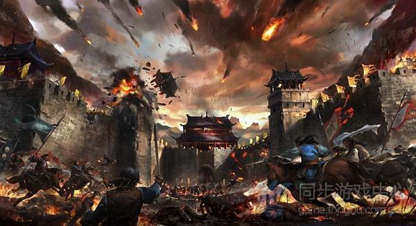 天龙八部3d游戏原画1