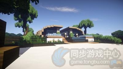 现代海滨别墅