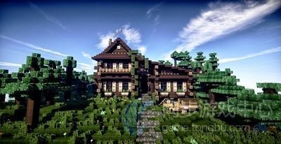 山中小木屋