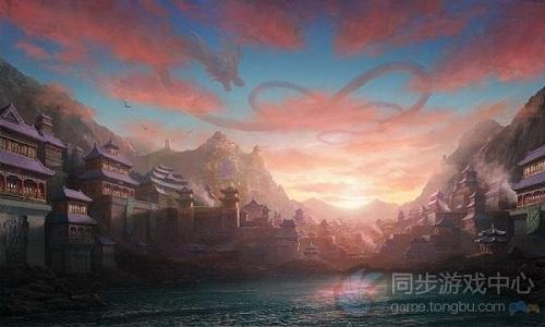 天龙八部3D游戏原画5