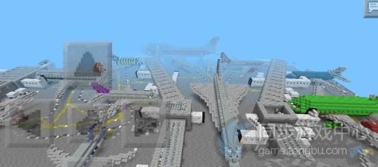 我的世界安卓存档-飞机场