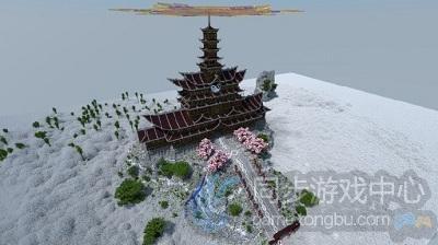 樱花之魂寺庙