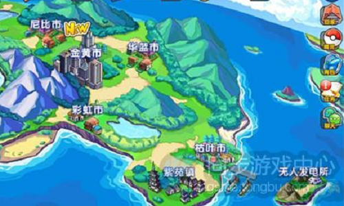 口袋妖怪复刻全地图